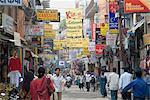 Thamel, the commercial tourist area, Kathmandu, Nepal, Asia