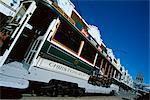 City tram, Christchurch, Canterbury, South Island, New Zealand, Pacific