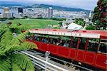 Le téléphérique, Wellington, North Island, Nouvelle-Zélande