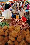 Market, St. Paul, Reunion Island, Indian Ocean