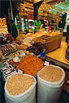 Food shop, Grand Bazar, Istanbul, Turquie, Eurasie