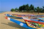 La plage à Saly, Sénégal, Afrique
