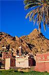IDRN village, région de Tafraoute, Anti Atlas, Maroc, Afrique du Nord