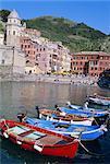 Vernazza, Cinque Terre, UNESCO World Heritage Site, Italian Riviera, Liguria, Italy, Europe