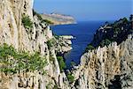 Calanques de Cassis, Bouches du Rhone, Provence, France, Europe