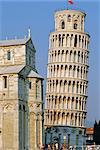 La tour de Pise, Piazza del Miracoli, Pise, Toscane, Italie
