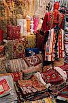 Carpet shop, Kapali Carsi, Grand Bazaar, Istanbul, Turkey, Europe