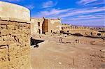 Ruines et remparts (Segundo Recinto), Alcazaba, Almeria, Andalousie, Espagne, Europe