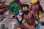Portrait of an Indian Sadhu, Pashupatinath, Katmandu, Nepal
