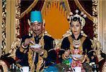 Traditional marriage, Place du Kraton, Jogyakarta, island of Java, Indonesia, Southeast Asia, Asia