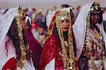 Mariage traditionnel berbère, Oasis de Tataouine, Tunisie, Afrique du Nord