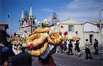 Saint Esprit festival, Pico Madalena island, Azores, Portugal, Europe, Atlantic Ocean