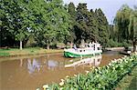 D'Homps de port, Canal du Midi, patrimoine mondial UNESCO, Minervois région, Languedoc Roussillon, France, Europe