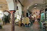 Souks de la Medina, Tunis, Tunisie, l'Afrique du Nord, l'Afrique
