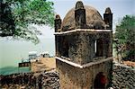 Narga Selassie Christian church, island of Dek, Lake Tana, Gondar region, Ethiopia, Africa