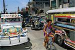 Île de Manille, scène de rue, de l'île de Luçon, aux Philippines, Asie du sud-est, Asie