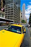 Yellow cab, New York, United States of America