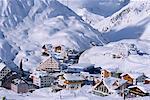 St Christoph in winter, Austria