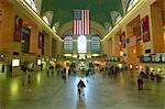 Intérieur de la gare Grand Central Station, New York City, New York, États-Unis d'Amérique, l'Amérique du Nord