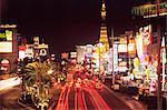 Las Vegas de nuit, Las Vegas, Nevada, États-Unis d'Amérique, l'Amérique du Nord