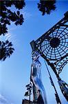 Statues sur Hollywood et Le Brea, Los Angeles, Californie, États-Unis d'Amérique, l'Amérique du Nord