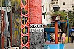 Callejon de Hamel, la Havane, Cuba, Antilles, l'Amérique centrale
