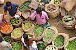 Market Trader, Trivandrum, Kerala, India