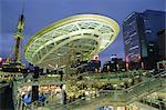 Passerelle, centre de la ville de Nagoya, Japon