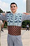 Traditionally dressed dancer, Aleppo (Haleb), Syria, Middle East