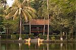 The house where Ho Chi Minh lived, Hanoi, Northern Vietnam, Southeast Asia, Asia
