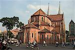 La cathédrale Notre-Dame, Ho Chi Minh ville (Saigon), Viêt Nam, Asie du sud-est, Asie