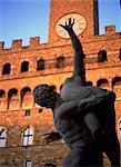 Piazza della Signoria, Florence, UNESCO World Heritage Site, Toscane, Italie, Europe