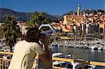 Menton, Alpes-Maritimes, Provence, Cote d'Azur, French Riviera, France, Mediterrranean, Europe