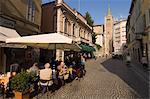Strada al Duomo, Parma, Emilia-Romagna, Italy, Europe