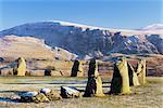 Castelrigg Stone Circle, near Keswick, Cumbria, England, United Kingdom, Europe