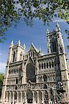 Facade of the Nidarosdomen Og Cathedral, Trondheim, Norway, Scandinavia, Europe