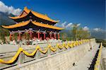 Chongsheng Temple, Dali Old Town, Yunnan Province, China, Asia