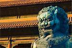 Statue, Forbidden City (Palace Museum), Beijing, China, Asia
