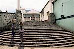 Marché jour, Santiago Atitlan, au Guatemala, l'Amérique centrale