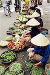 Street market, Danang, Vietnam, Indochina, Southeast Asia, Asia