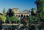 Palais de l'Alhambra, Grenade, Andalousie, Espagne, Europe