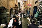 Le Bazar, Bagdad, Irak, Moyen-Orient
