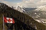 Banff Gondola and Scenic Overlook, Banff National Park, UNESCO World Heritage Site, Rocky Mountains, Alberta, Canada, North America
