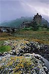 Château d'Eilean Donan, Dornie, région des Highlands, Ecosse, Royaume-Uni, Europe