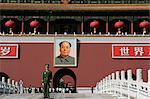 The Heavenly Gate to the Forbidden City, Tiananmen Square, Beijing (Peking), China, Asia