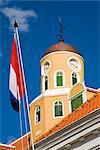 Église de fort dans le Fort Amsterdam, District de Punda, Willemstad, Curacao, Netherlands Antillies, Antilles, Caraïbes, Amérique centrale