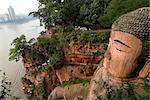 Giant Buddha, UNESCO World Heritage Site, Leshan, Sichuan, China, Asia
