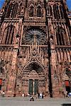 Notre-Dame Cathedral, Strasbourg, Alsace, France, Europe