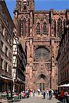 Notre Dame de Paris, Strasbourg, Alsace, France, Europe