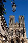 Cathédrale de notre-Dame, Site du patrimoine mondial de l'UNESCO, Reims, Marne, Champagne Ardenne, France, Europe